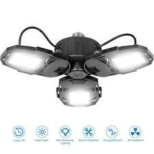 Garage Lighting LED Garage Light 8000LM 80W Shop Lights for Garage Deformable