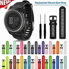 Easyfit Silicone Watch Wristband Belt Strap For Garmin Fenix 3 HR 5X Plus 6X Pro