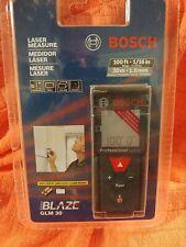 New Bosch Blaze Glm30 10030m Laser Distance Measure Range Finder Sealed