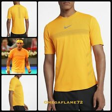 Nike Rafael Nadal AeroReact Rafa Tennis Polo Shirt, 888206-845, Monte Carlo 2018