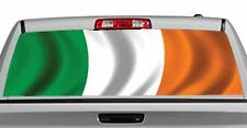 Truck Rear Window Decal Graphic [Flags / Ireland] 20x65in DC87501