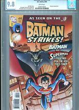 BATMAN STRIKES #44 CGC 9.8 SUPERMAN DC COMICS 2008