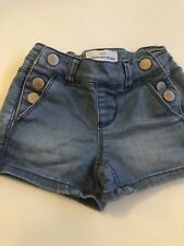 Girls Country Road Denim Shorts, Size 3