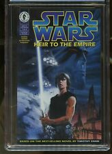 STAR WARS: HEIR TO THE EMPIRE #1 CGC GRADED 9.8 WHITE PAGES 1995 #3713577041