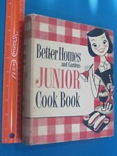 Better Homes and Gardens Junior cook book 1955 Binder VG Shape First 1st Edition