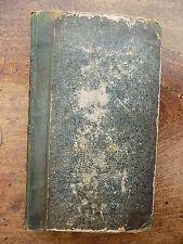 1837 County Atlas Angleterre Pays de Galles FULLARTON Bell vieux antique Livre imprime complet