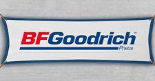 BFGoodrich Flag Banner Tires BF Car Racing Shop Garage Man Cave (18x59 in)