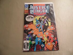Justice League America #55 (DC 1991) Free Domestic Shipping
