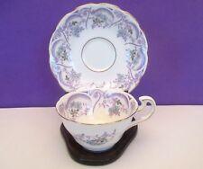 "Spencer Stevenson ""Regina"" Porcelain Cup and Saucer, England"