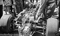 PEDRO RODRIGUEZ COOPER MASERATI CAR PHOTOGRAPH ENGINE MONACO GRAND PRIX 1967