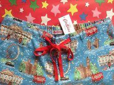 CATH KIDSTON BNWT XS London Christmas Pyjama PJ Lounge Bottoms UK 6-8 Gift Bag