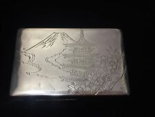 Vintage Japanese 950 Sterling Silver Box