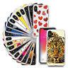 Schutzhülle für iPHONE Handy Hülle Schutz Cover Silikon Case Klar Tasche Motiv