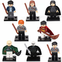 Harry Potter Ron Snap Hermione Lord Malfoy 8 Minifigures Building bricks lEGO