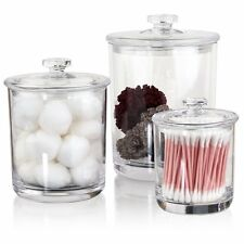 Plastic Apothecary Jars Plastic Jars With Lids Acrylic Clear Apothecary Jars Set
