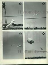 1963 Press Photo Aircraft Testing at Edwards Air Force Base, California