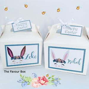 Personalised Easter Activity Gift Box, Present, Basket, Hamper, Easter Egg Hunt