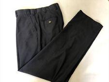 Brooks Brothers Men's Black Polyester Dress Pants 36X32 $125