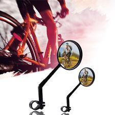 360 Grados Giratorio Espejo Retrovisor de Vidrio Bicicleta Aire Libre Seguridad