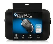 "NEW HP Netbook/Tablet Sleeve (10.2"") + Mouse Bundle TOP HP Quality UK VAT inc."
