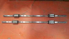 Linear Rail L111cm W25cm H20cm With X2 Thk Shs25 Guide Blocks Trolley