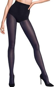 Wolford 261649 Women's Neon 40 Tights Navy Opal Size X-Small