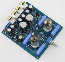 HIFI 6J1 Valve Pre-amp Tube stereo PreAmplifier Board Bass on X10-D circuit