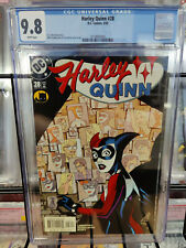 HARLEY QUINN #28 (2000 SERIES) - CGC GRADE 9.8 -  GOTHAM POLICE ARE CLOSING IN!