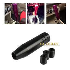 Black Long Plus Universal Manual Car Gear Stick Shift Knob Shifter Lever 13cm