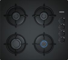 SIEMENS EO6B6PB10 60cm Black Ceramic Glass Kitchen Gas Hob New !!!