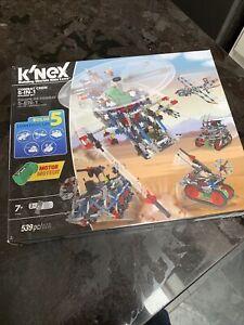 K'Nex Combat Crew 5-in-1 Building Set With Motor 539 Pieces Ages 7+ 31480