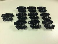 R3 HO Scale Tyco Talgo Trucks Lot Of 10 - Train Freight Car Replacement Parts