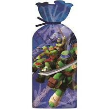 16 Teenage Mutant Ninja Turtles Party Cellophane Favour Gift Sweet Bags