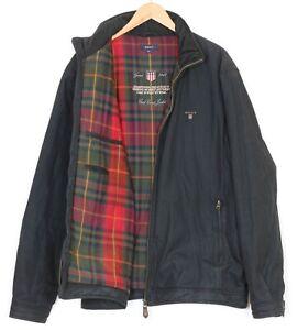 GANT EAST COAST Full Zip Harrington Jacket Men Size 2XL MJ2637