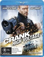 Crank - High Voltage (Blu-ray, 2009)terrific Condition*R Rated*Jason Statham