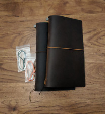 Camel / Brown Used Midori Travelers Notebook by Travelers Company Japan