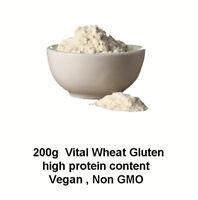 200g Vital Wheat Gluten, High in Protein, Vegan, Non GMO