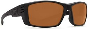 Costa Cortez Blackout TR-90 Nylon Frame Amber Lens Men's Sunglasses Cz01Oap