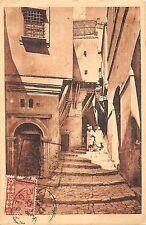 BR46300 Alger une rue de la casbah street in the casbah  Algeria