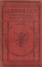 WARD LOCK RED GUIDE - LLANGOLLEN & NORTH WALES - 1929/30 - 7th edition revised