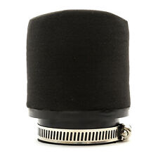 48mm 50mm Motorcycle Pod Air Filter Black Performance Thick Foam Straight Neck