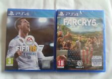 FARCRY5 + FIFA18  PS4  (Neuf sous blister)
