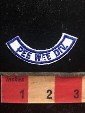 As-Is PEE WEE DIVISION Tab Patch 75Q