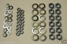 KAWASAKI 750 H2 500 H1 - Kit écrous + rondelles pour le carter moteur