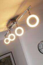 4 spots sur rail Plafonnier LED Lustre Lampe à suspension Lampe pendante 64817