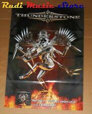 POSTER PROMO THUNDERSTONE TOOLS DESTRUCTION 84X 59,5 cm NO cd dvd vhs lp live mc
