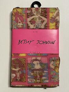 Betsey johnson RETRO COMIC STYLE FUNKY Nylon Tights FROM 2010 S/M