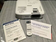 Epson Cinema Projector with Wireless 1080 3100 lumens 3LCD  PERFECT NEW