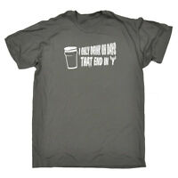 Funny Novelty T-Shirt Mens tee TShirt - End In Y