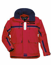 Giacche impermeabili XM Yachting Offshore Jacket Red Man L-